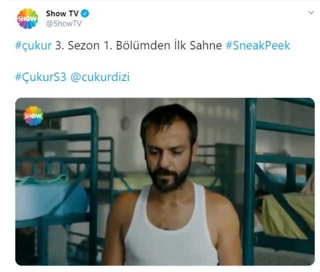 Çukur 3. sezon 1. bölüm