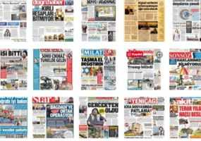 02 Kasım 2019 Tarihli Gazetelerin İlk Sayfaları