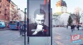 öksüren billboard