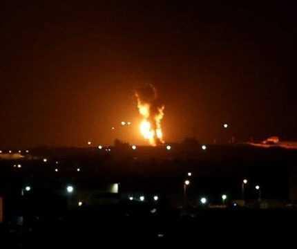 İsrail'den Gazze'ye Hava Saldırısı! Sivilleri Vurdu