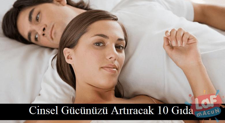 Cinsel Gücünüzü Artıracak 10 Gıda