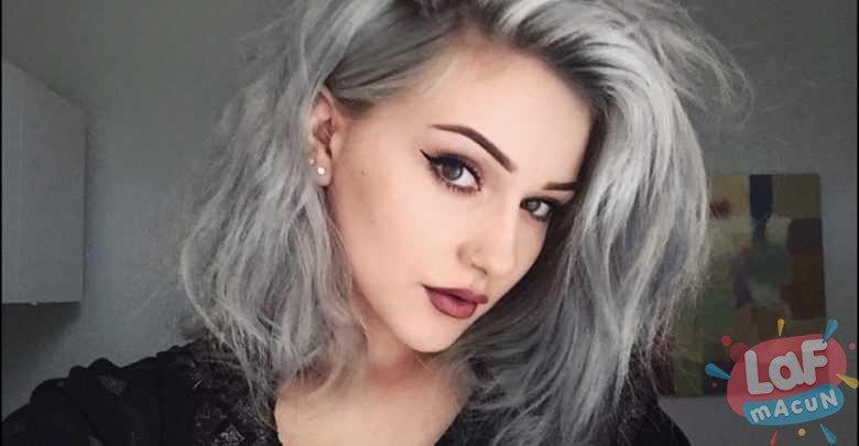 Kadınlar İçin Beyaz Saça Alışmak Daha Zor Olabiliyor