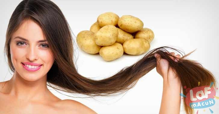 Saç Beyazlığına Patates Kabuğu Formülü