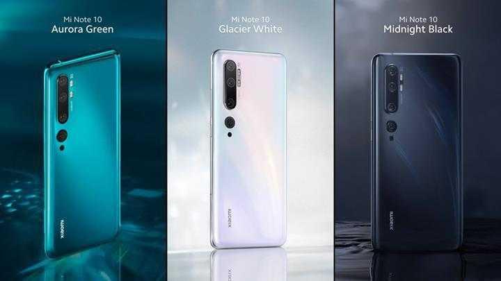 Xiaomi Mi note 10 ve Mi note 10 pro satış fiyatı