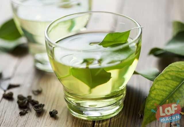yeşil çay için