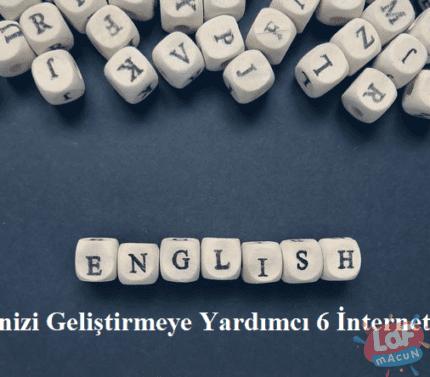 İngilizcenizi Geliştirmeye Yardımcı 6 İnternet Sitesi