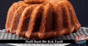 Pratik basit kek tarifi