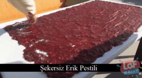 şekersiz erik pestili nasıl yapılır