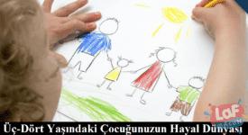 Üç-Dört Yaşındaki Çocuğunuzun Hayal Dünyası