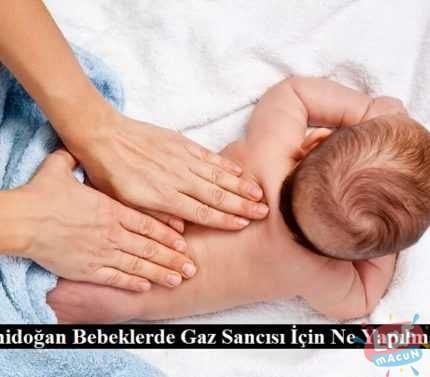 Yenidoğan Bebeklerde Gaz Sancısı İçin Ne Yapılmalı?
