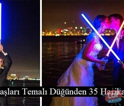 Yıldız Savaşları Temalı Düğünden 35 Harika Fotoğraf