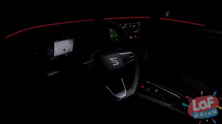 Seat Leon FR iç tasarım