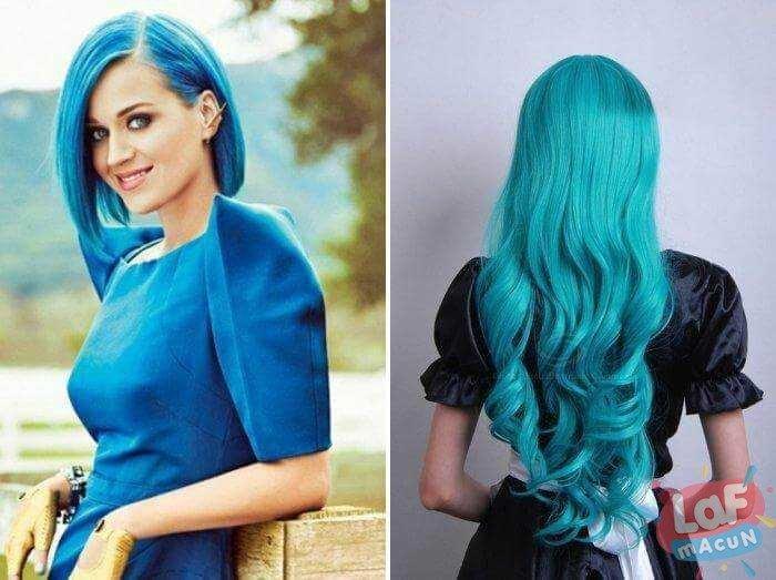 okyanus saç rengi