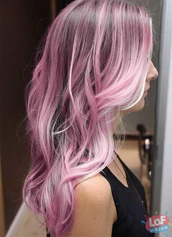 Deniz kızı Saç Rengi