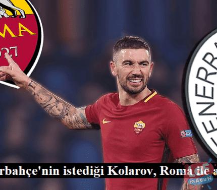 Fenerbahçe'nin istediği Kolarov, Roma ile anlaştı
