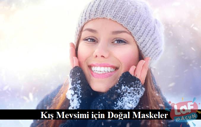 Kış Mevsimi için Doğal Maskeler