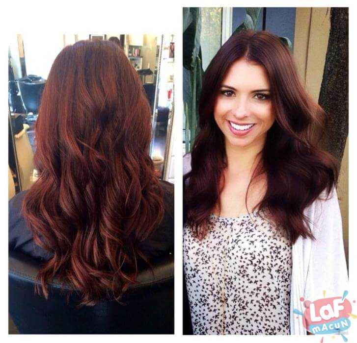 Kola Saç Rengi