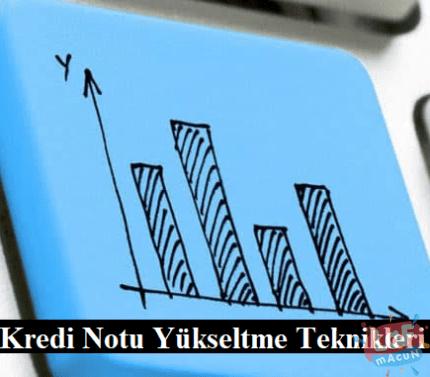 kredi notu yükseltmek