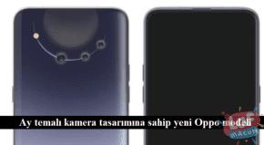 Ay temalı kamera tasarımına sahip yeni Oppo modeli