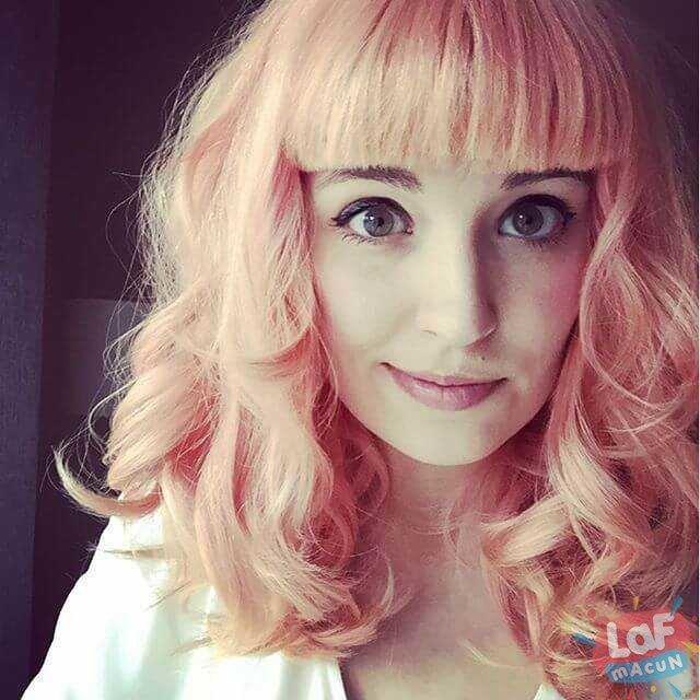 şeftali saç rengi