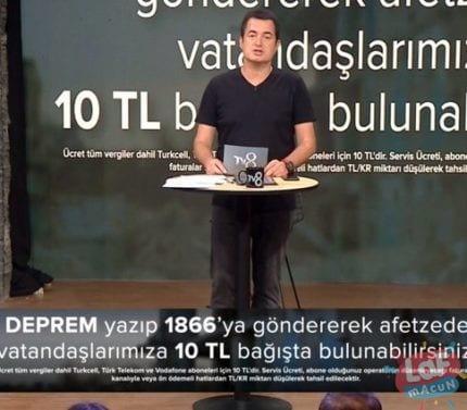 Acun Ilıca'nın TV8 ekranlarındaki yardım kampanyasında toplanan tutar 41 milyon TL'yi aştı.