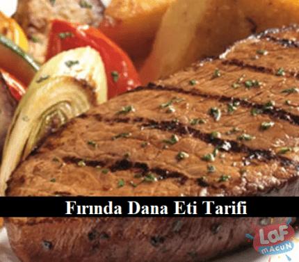 Fırında Dana Eti Tarifi
