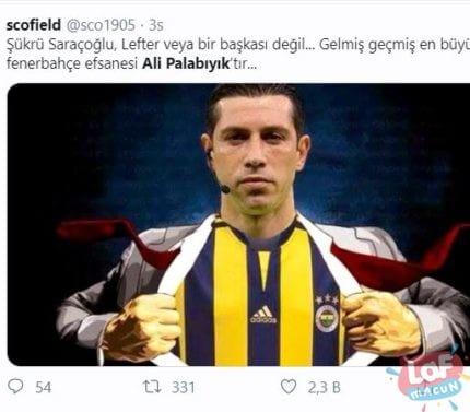 Trabzonspor-Fenerbahçe paylaşımlar