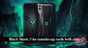 Xiaomi Black Shark 3 Teknik çıkış tarihi ve özellikleri