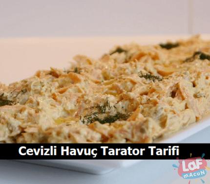 Cevizli Havuç Tarator Tarifi