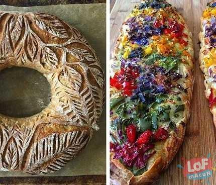 Yemeye Kıyamayacağınız Güzellikte Ev Yapımı Ekmekler