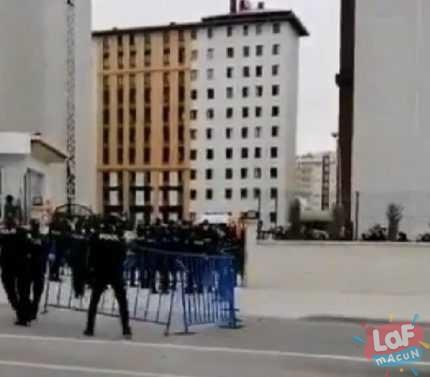 Konya'da yurtta karantina altına alınanlar kaçmaya çalıştı