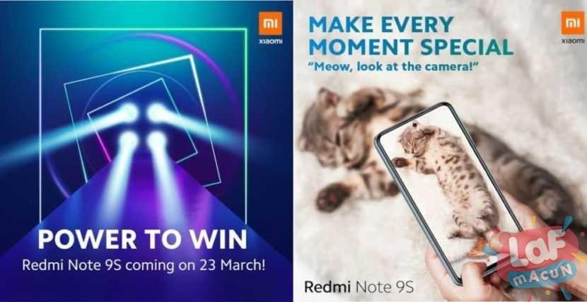 4 Arka Kameralı Redmi Note 9S Tanıtım Tarihi Belli Oldu