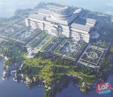 Minecraft'ta 24 Kişi Tarafından Yapılan Sansürsüz Kütüphane