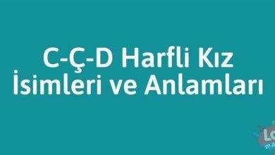 Photo of C-Ç-D Harfli Kız İsimleri ve Anlamları