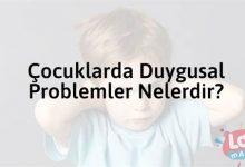 Photo of Çocuklarda Duygusal Problemler Nelerdir?